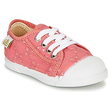 Cipők Lány Rövid szárú edzőcipők Citrouille et Compagnie MALIKA Rózsaszín