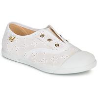 Cipők Lány Rövid szárú edzőcipők Citrouille et Compagnie RIVIALELLE Fehér