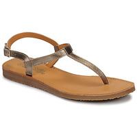 Cipők Lány Lábujjközös papucsok Citrouille et Compagnie MIZZA Arany