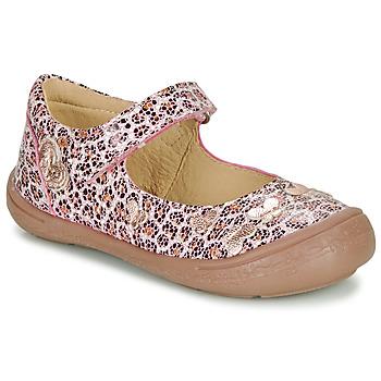 Cipők Lány Balerina cipők  Citrouille et Compagnie JALIPINE Leopárd