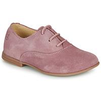 Cipők Lány Oxford cipők Citrouille et Compagnie MISTI Rózsaszín