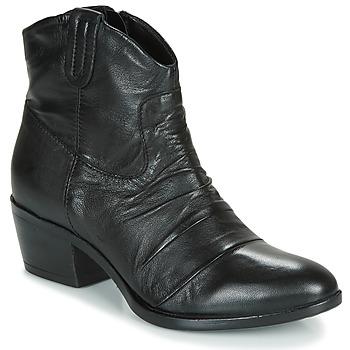 Cipők Női Csizmák Mjus DALLAS-DALLY Fekete