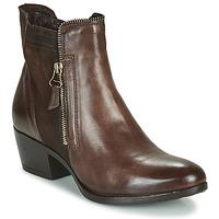 Cipők Női Csizmák Mjus DALLAS-DALLY Bordó