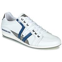 Cipők Férfi Rövid szárú edzőcipők Redskins WARREN Fehér / Kék / Szürke