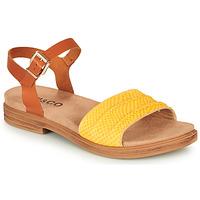 Cipők Női Szandálok / Saruk IgI&CO 5170711 Konyak / Citromsárga