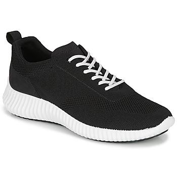 Cipők Férfi Rövid szárú edzőcipők IgI&CO 5123422 Fekete
