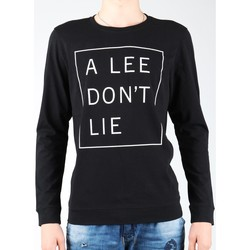 Ruhák Férfi Hosszú ujjú pólók Lee T-shirt  Don`t Lie Tee LS L65VEQ01 czarny, biały