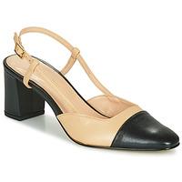 Cipők Női Félcipők Jonak DHAPOP Bézs / Fekete