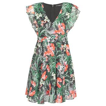 Ruhák Női Rövid ruhák Guess EULALIA DRESS Fekete  / Zöld