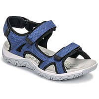 Cipők Női Sportszandálok Allrounder by Mephisto LARISA Kék