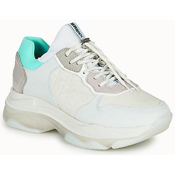 Cipők Női Rövid szárú edzőcipők Bronx BAISLEY Fehér