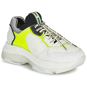 Cipők Női Rövid szárú edzőcipők Bronx BAISLEY Fehér / Citromsárga