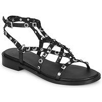 Cipők Női Szandálok / Saruk Bronx THRILL Fekete