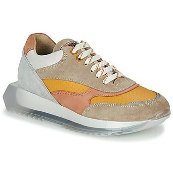 Cipők Női Rövid szárú edzőcipők Bronx LINKK-UP Tópszínű / Rózsaszín / Szürke