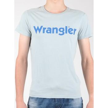 Ruhák Férfi Rövid ujjú pólók Wrangler T-shirt  S/S Graphic Tee W7A64DM3E szary