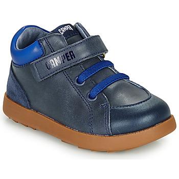 Cipők Fiú Rövid szárú edzőcipők Camper Bryn FW Kék