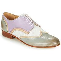 Cipők Női Oxford cipők Melvin & Hamilton SALLY 15 Kék / Fehér / Bézs