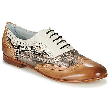 Cipők Női Balerina cipők  Melvin & Hamilton SONIA 1 Barna / Bézs
