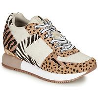 Cipők Női Rövid szárú edzőcipők Gioseppo BIKANER Bézs / Barna