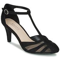 Cipők Női Félcipők André FALBALINE Fekete