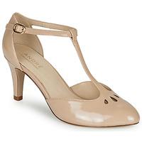 Cipők Női Félcipők André FALBALETTE Bőrszínű