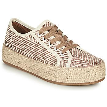 Cipők Női Gyékény talpú cipők André PEN Bézs
