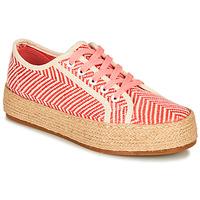 Cipők Női Gyékény talpú cipők André PEN Narancssárga