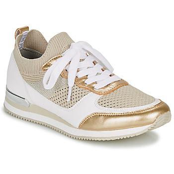 Cipők Női Rövid szárú edzőcipők André BETTIE Bézs