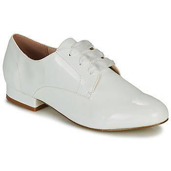 Cipők Női Oxford cipők André ERNESTINE Fehér
