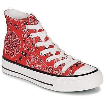 Cipők Női Rövid szárú edzőcipők André HEAVEN Piros