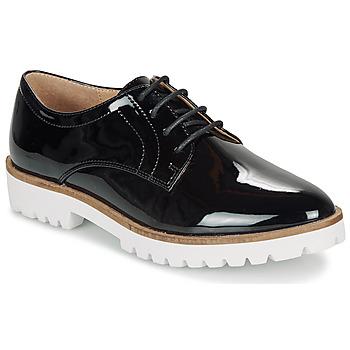 Cipők Női Oxford cipők André EDDYTH Fekete  / Fényes