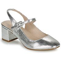 Cipők Női Balerina cipők  André JONNA Ezüst
