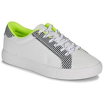 Cipők Női Rövid szárú edzőcipők André HAMAKO Fehér