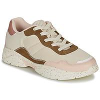Cipők Női Rövid szárú edzőcipők André HAZE Bézs