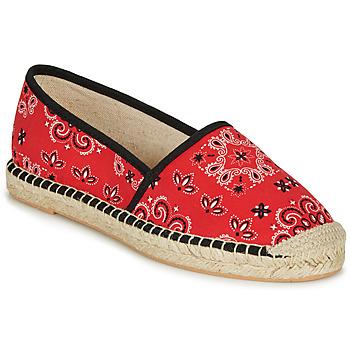 Cipők Női Gyékény talpú cipők André HADRIANA Piros