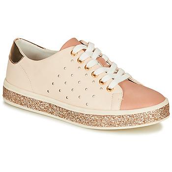 Cipők Női Rövid szárú edzőcipők André PENNY Rózsaszín