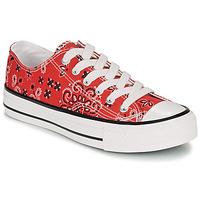 Cipők Női Rövid szárú edzőcipők André HAPPY Piros
