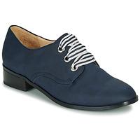 Cipők Női Oxford cipők André MONTSERRAT Kék