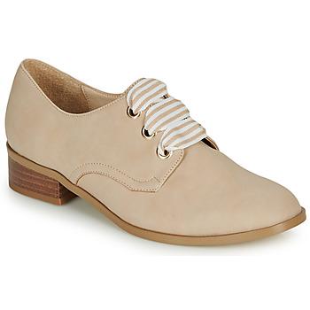 Cipők Női Oxford cipők André MONTSERRAT Bézs