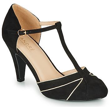 Cipők Női Félcipők André JULIETTE Fekete