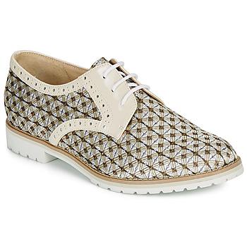 Cipők Női Oxford cipők André DERIVEUR Bézs