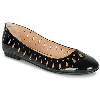 Cipők Női Balerina cipők  André JENNY Fekete  / Fényes