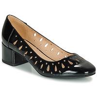 Cipők Női Balerina cipők  André JOZEFA Fekete  / Fényes