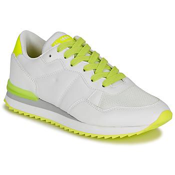 Cipők Női Rövid szárú edzőcipők André HISAYO Fehér
