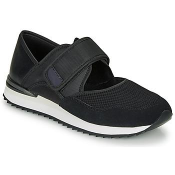 Cipők Női Rövid szárú edzőcipők André HISAYA Fekete