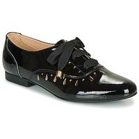Cipők Női Oxford cipők André JUNIA Fekete  / Fényes