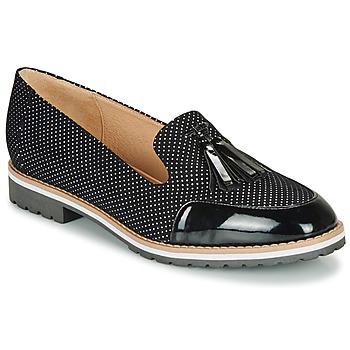 Cipők Női Mokkaszínek André EMOTION Fekete