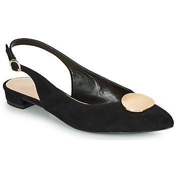 Cipők Női Balerina cipők  André JACQUOTTE Fekete