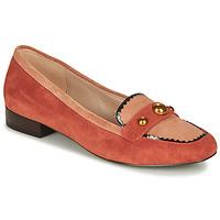 Cipők Női Mokkaszínek André L ACROBATE Rózsaszín