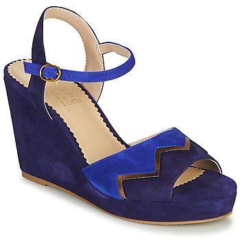Cipők Női Szandálok / Saruk André LA JONGLEUSE Kék